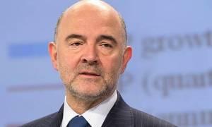 Μοσκοβισί: Πολύ κοντά η συμφωνία για το ελληνικό χρέος