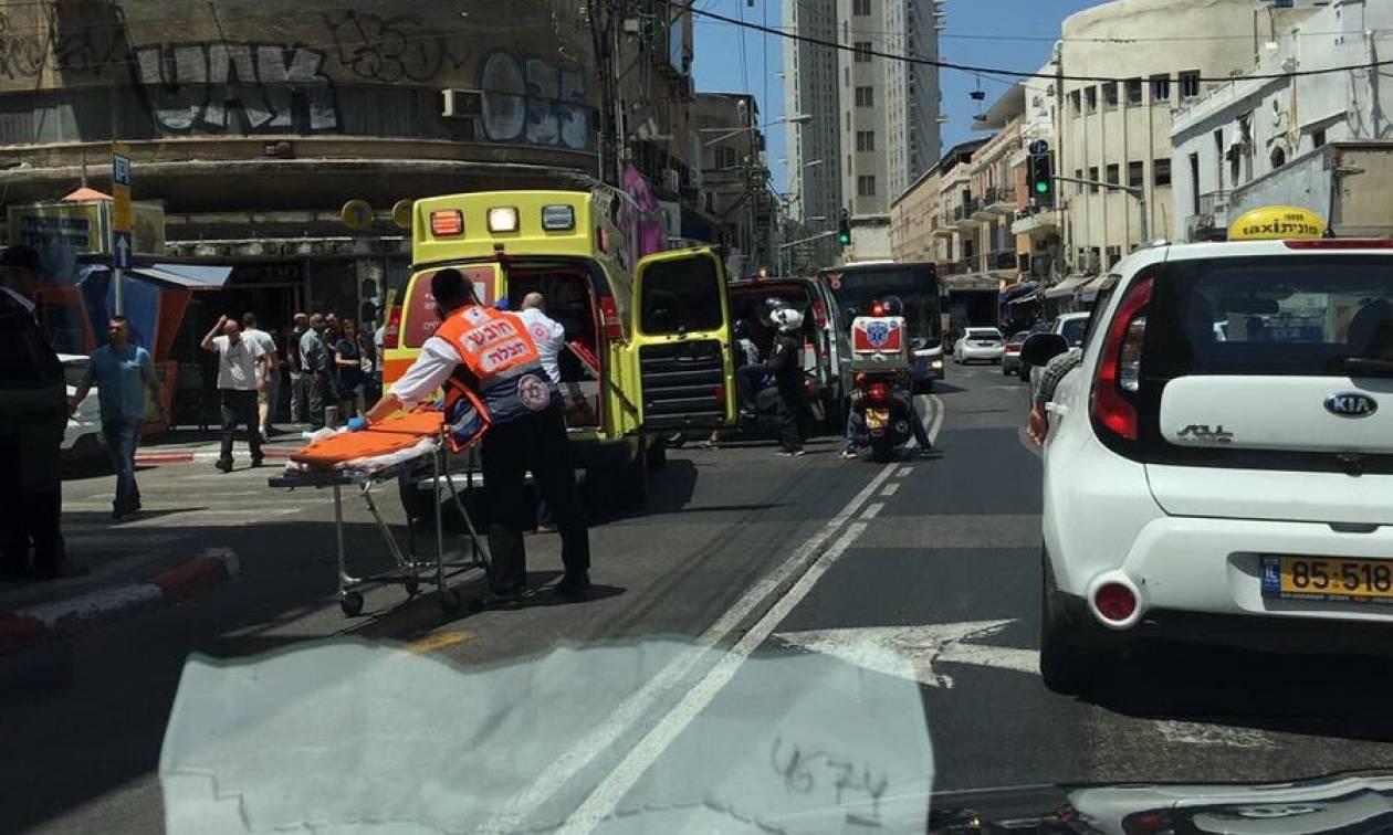Aυτοκίνητο εμβόλισε πεζούς στο Τελ Αβίβ λίγο πριν φθάσει ο Ντόναλντ Τραμπ (Pics)