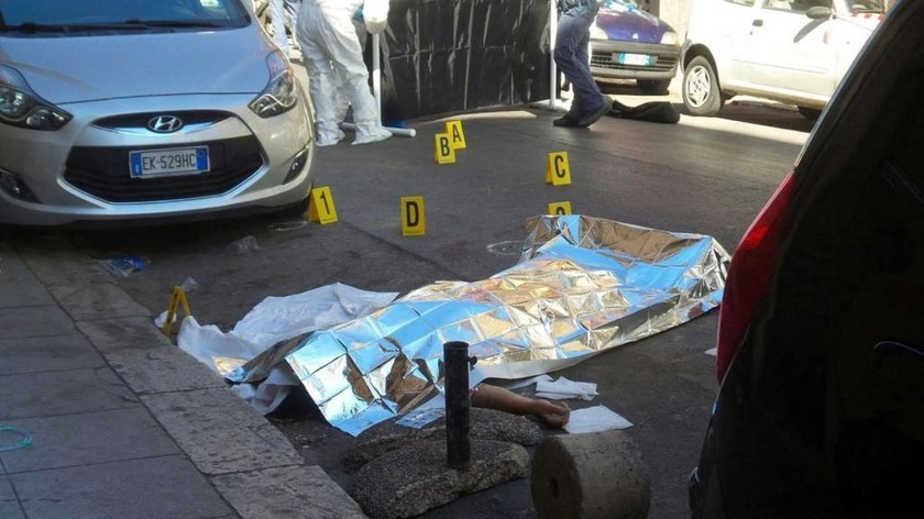 Κινηματογραφική δολοφονία του αρχινονού της Κόζα Νόστρα στη Σικελία (Pics)
