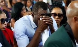 Ξέσπασε σε κλάματα ο Γιουσέιν Μπολτ στην κηδεία του Μέισον