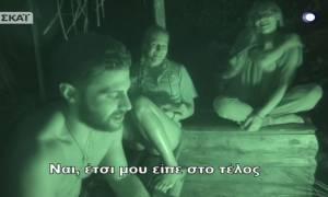 Survivor: Ο Βασάλος αποκάλυψε τι του είπε η Τουρκάλα μετά το τέλος του πάρτι!