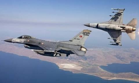 Χαμός στο Αιγαίο: Τουρκικά αεροσκάφη και ελικόπτερα πάνω από ελληνικά νησιά