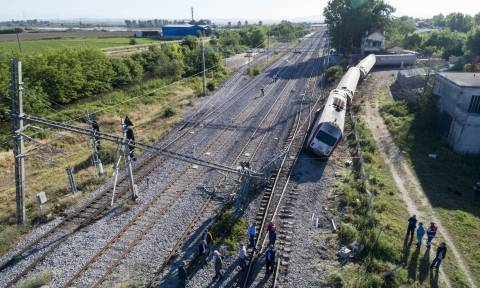 Εκτροχιασμός τρένου Θεσσαλονίκη: Αποκαταστάθηκε η σιδηροδρομική γραμμή στο Άδενδρο