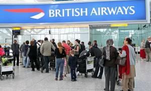 Χάος στις πτήσεις της British Airways - Εκτός λειτουργίας το σύστημα check-in