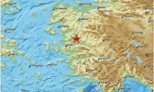 Ισχυρός σεισμός 5 Ρίχτερ Τώρα στην Τουρκία