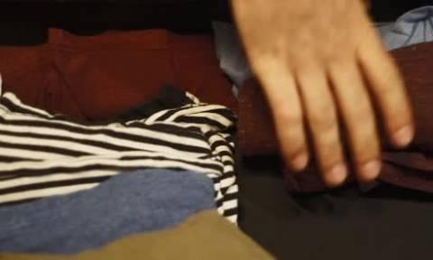 Το γνώριζες πως μέχρι σήμερα έφτιαχνες λάθος τις βαλίτσες σου; (video)