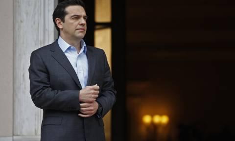 Ο Αλέξης Τσίπρας υποδέχεται τον πρωθυπουργό της Εσθονίας