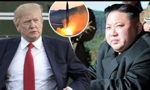 Τραμπ: Η Β. Κορέα έδειξε μεγάλη έλλειψη σεβασμού στην Κίνα