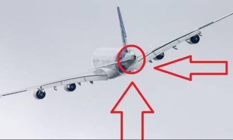 Γιατί τα αεροπλάνα έχουν ένα «κρυφό» κινητήρα στην ουρά; (vid)