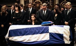 Η Ελλάδα αποχαιρετά τον Κωνσταντίνο Μητσοτάκη