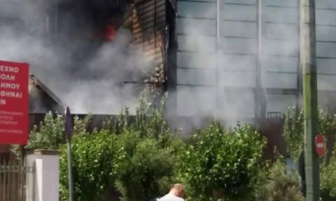 Πυρκαγιά σε νυχτερινό κέντρο στην Ιερά Οδό