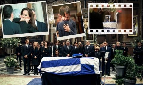 «Καλό ταξίδι, Πρόεδρε» - Ύστατο χαίρε στον Κωνσταντίνο Μητσοτάκη (pics+vids)