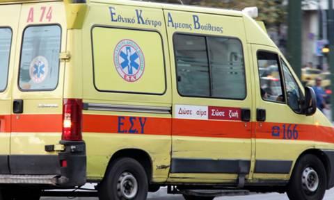 Ιεράπετρα: Σε σοβαρή κατάσταση άνδρας που έπεσε στο κενό με τη «γουρούνα» που οδηγούσε