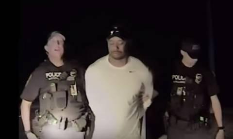 Βίντεο ντοκουμέντο: Η στιγμή της σύλληψης του Tiger Woods - Σε άθλια κατάσταση ο παίχτης του γκολφ