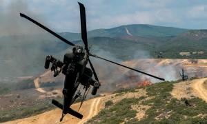 Τρόμος στον αέρα: Αναγκαστική προσγείωση ελικοπτέρου Απάτσι στον Άη Στράτη