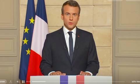 Μακρόν: Η απόφαση των ΗΠΑ για τη Συμφωνία του Παρισιού θα ζημιώσει τον πλανήτη συνολικά (Vid)