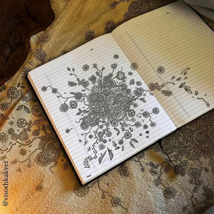 Viral: Αυτός ο σκιτσογράφος έχει «ανεβάσει» την τέχνη του Doodle σε άλλο επίπεδο (Pics)