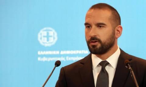 Επιμένει ο Τζανακόπουλος: Καμία πρόταση χωρίς οριστική λύση δεν θα γίνει δεκτή