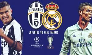 Τελικός Champions League: Γιουβέντους και Ρεάλ Μαδρίτης «κοντράρονται» στο Κάρντιφ