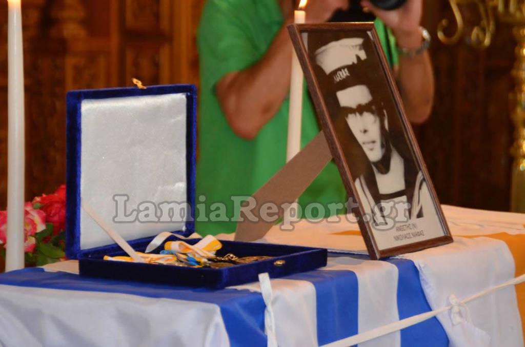Η Λαμία υποδέχτηκε τον ήρωα Νικόλαο Νιάφα μετά από 53 χρόνια (pics&vids)
