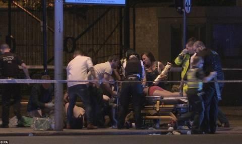 Διπλή τρομοκρατική επίθεση Λονδίνο: Τουλάχιστον 20 τραυματίες σε νοσοκομεία (Pic)