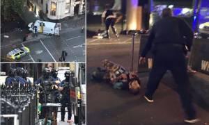 Τρομοκρατικό χτύπημα Λονδίνο: Μαχαίρωναν όποιον έβλεπαν μπροστά τους - Εφτά οι νεκροί του μακελειού