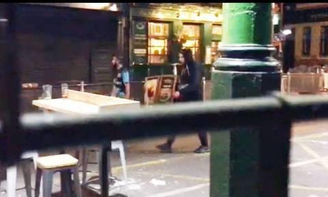 Τρομοκρατικό χτύπημα Λονδίνο: Οι δράστες λίγο πριν αιματοκυλήσουν την Βρετανική πρωτεύουσα (βίντεο)