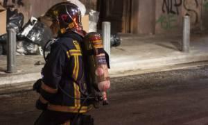 Θεσσαλονίκη: Υπό πλήρη έλεγχο η φωτιά που ξέσπασε στο κέντρο της πόλης