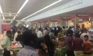 Σκηνές πανικού στο Κατάρ: Ουρές στα σούπερ μάρκετ - Αδειάζουν τα ράφια (pics)