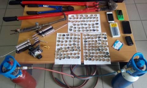 Ασπρόπυργος: Σύλληψη 33χρονου για απόπειρες κλοπών σε ΑΤΜ και για αρχαιοκαπηλία