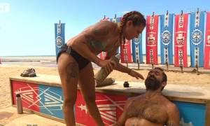 Survivor: Χτύπησε στο κεφάλι Μπο - Ζαλίστηκε και έκατσε στον πάγκο