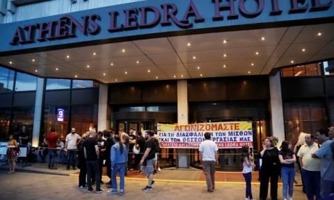 Ledra Athens: Αποχωρούν από το ξενοδοχείο οι εργαζόμενοι