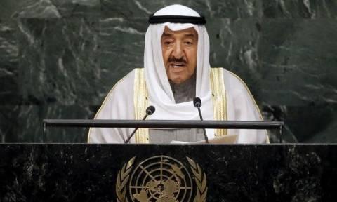 Ο εμίρης του Κουβέιτ έτοιμος να μεσολαβήσει για την επίλυση της κρίσης στο Κατάρ