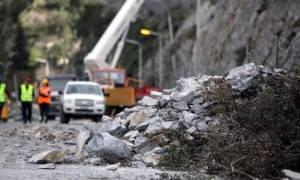 Προσοχή! Κλειστή από την Τετάρτη η παλαιά εθνική οδός στα Τέμπη