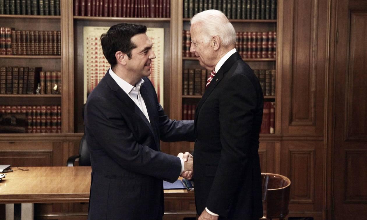 Μπάιντεν σε Τσίπρα: Ήρθε η ώρα για την ελάφρυνση του ελληνικού χρέους (pics)