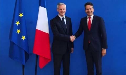 Συζήτηση για την Ελλάδα χωρίς… την Ελλάδα: Τι συζήτησαν Ντάισελμπλουμ και Γάλλος ΥΠΟΙΚ