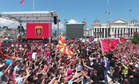 Νέα πρόκληση των Σκοπιανών: Η Θεσσαλονίκη είναι δικιά μας (vid)