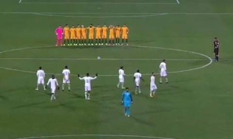 Οι παίκτες της Σ. Αραβίας δεν τήρησαν την ενός λεπτού σιγή για τα θύματα του Λονδίνου! (vid)