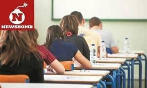 Πρόγραμμα Πανελληνίων 2017: Σε αυτά τα μαθήματα εξετάζονται οι υποψήφιοι των ΓΕΛ την Παρασκευή