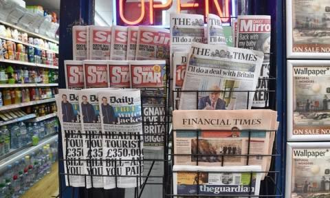 Εκλογές Βρετανία: Σοκαρισμένος ο βρετανικός Τύπος από τα αποτελέσματα (pics)