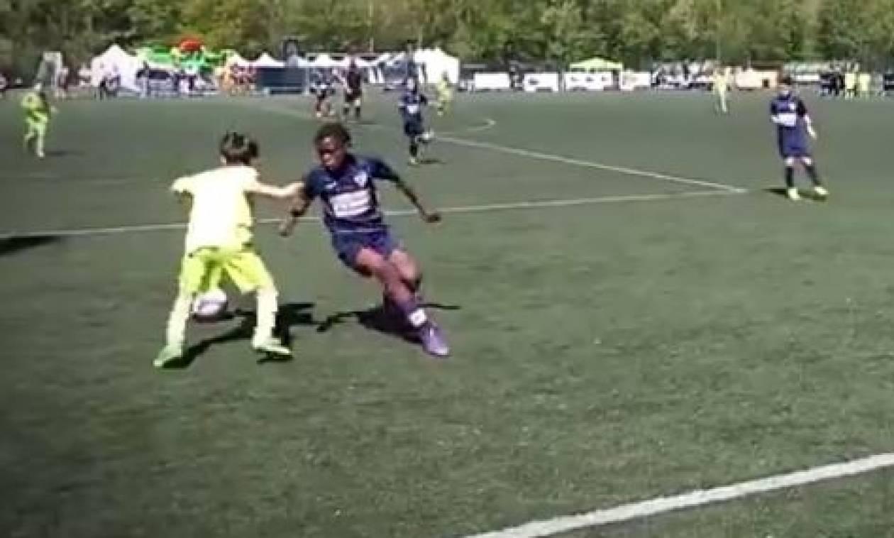 Παιδί... Μέσι: Το μεγαλύτερο ποδοσφαιρικό ταλέντο του πλανήτη... (Video)
