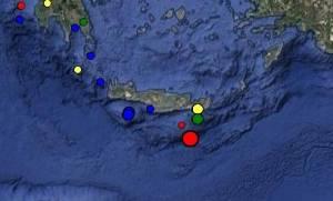Δύο σεισμοί «ταρακούνησαν» την Κρήτη