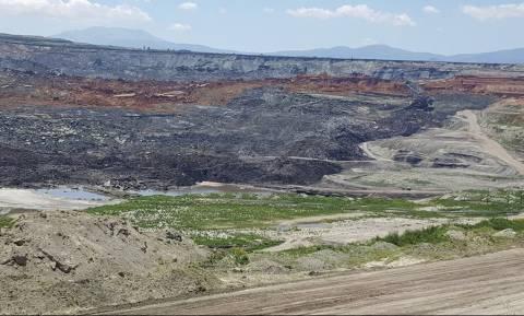 Συναγερμός στη ΔΕΗ - Αποκολλήθηκαν εδαφικές μάζες στο ορυχείο του Αμύνταιου
