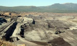 48a92df205 Μεγάλη η καταστροφή στο ορυχείο του Αμύνταιου  Εκκενώθηκαν σπίτια λόγω της  κατολίσθησης
