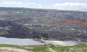 Κοζάνη: Σε κατάσταση έκτακτης ανάγκης λόγω τεράστιας κατολίσθησης στο ορυχείο Αμυνταίου