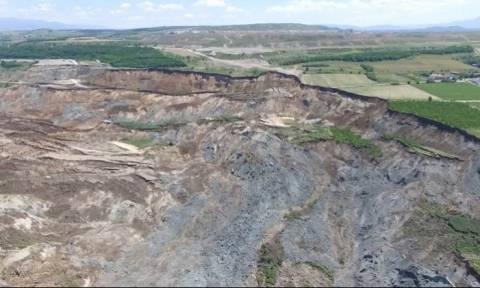 Η ανακοίνωση της ΔΕΗ για την κατολίσθηση στο ορυχείο Αμυνταίου