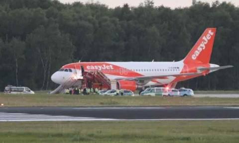 Συναγερμός στη Γερμανία: Έκτακτη προσγείωση αεροσκάφους της easyJet (Pics+Vid)