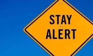 Η Γενική Γραμματεία Πολιτικής Προστασίας προειδοποιεί: «Προσέξτε ΟΛΟΙ τις επόμενες ώρες»