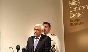 Παυλόπουλος: Όποιος νομίζει ότι μέσω της ισχύος θα επικρατήσει αργά ή γρήγορα θα συντριβεί