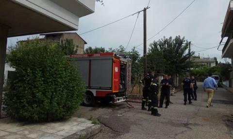Αυτοπυρπολήθηκε άνδρας στο Αγρίνιο: Νοσηλεύεται σε κρίσιμη κατάσταση (pics)
